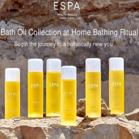 The ESPA range of aromatic bath oils