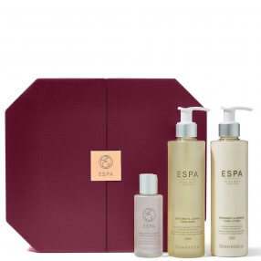 Shows the 3 products in ther wellbeing in your hands collection